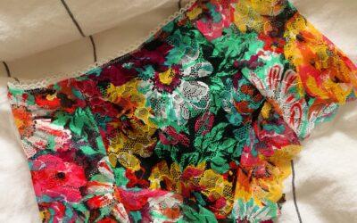 DIY High Waisted Lace Panties Digital Sewing Pattern
